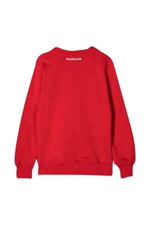 Red sweatshirt teen Diadora Junior  NEIL BARRETT KIDS | -108764232 | 026015040T