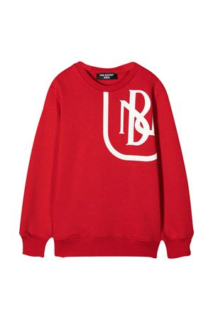 Felpa rossa teen Neil Barrett Kids NEIL BARRETT KIDS | -108764232 | 026051040T