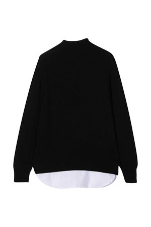 Black sweater teen Paolo Pecora Kids  Paolo Pecora kids | 7 | PP2382NEROT