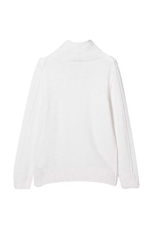 White sweater teen Paolo Pecora Kids Paolo Pecora kids | 7 | PP2385BIANCT