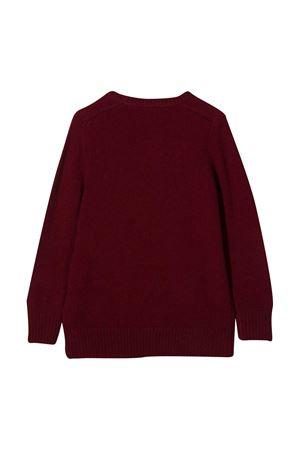 Burgundy sweater teen Paolo Pecora Kids Paolo Pecora kids | 7 | PP2394YBORDEAUXT