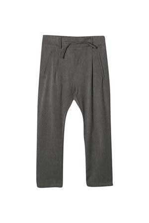 Pantaloni con coulisse di colore grigio di Paolo Pecora Kids Paolo Pecora kids | 9 | PP2500GRIGI