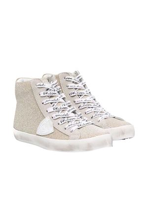 Gold sneakers teen Philippe Model kids PHILIPPE MODEL KIDS | 12 | CLH0GM3CT