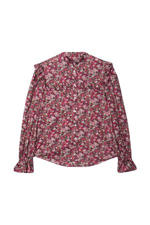 Mauve floral shirt Philosophy Kids PHILOSOPHY KIDS | 5032334 | PJCA46CF484ZH0360169