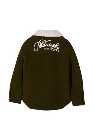 Olive green jacket Philosophy Kids PHILOSOPHY KIDS | 3 | PJGC11ML226ZH0420189
