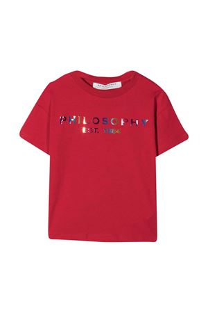 Red Philosophy Kids t-shirt PHILOSOPHY KIDS | 8 | PJTS40JE95BZH0030025