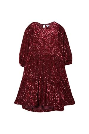 Juliane Piccola Ludo burgundy dress  Piccola Ludo | 11 | BS5WB054TES04321801