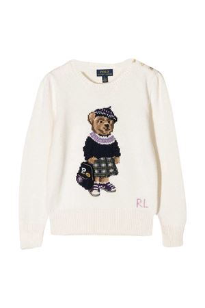 White sweater Ralph Lauren Kids  RALPH LAUREN KIDS | -108764232 | 312799956001
