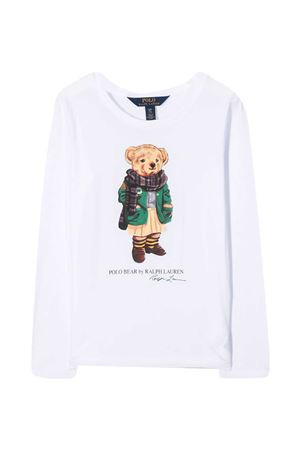 White sweater Ralph Lauren Kids  RALPH LAUREN KIDS | 8 | 312809578001