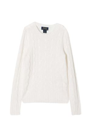 White sweater teen Ralph Lauren Kids   RALPH LAUREN KIDS | -108764232 | 313562294001T