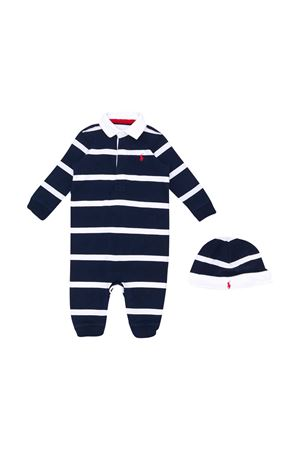 Blue striped romper Ralph Lauren Kids  RALPH LAUREN KIDS | 75988882 | 320504056001