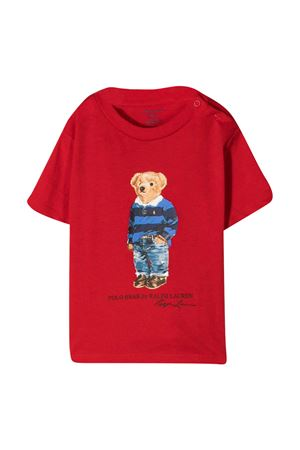 Ralph Lauren kids red t-shirt  RALPH LAUREN KIDS | 8 | 320799045005