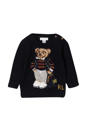 Ralph Lauren Kids blue sweater  RALPH LAUREN KIDS | -108764232 | 320799423001