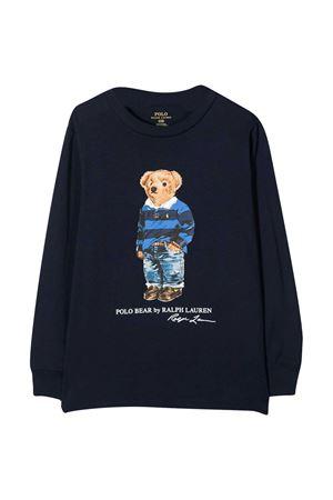 Felpa blu neonato Ralph Lauren Kids RALPH LAUREN KIDS | 8 | 320805681002