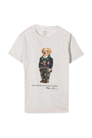 T-shirt grigia Ralph Lauren Kids RALPH LAUREN KIDS   8   322799045002