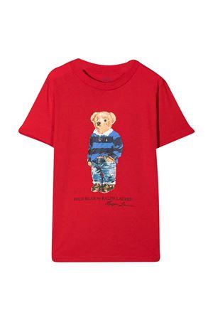T-shirt rossa Ralph Lauren Kids RALPH LAUREN KIDS   8   322799045005
