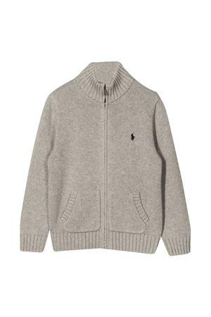 Cardigan grigio Ralph Lauren Kids RALPH LAUREN KIDS   -108764232   322799411001