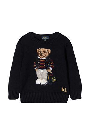 Maglione blu Ralph Lauren Kids RALPH LAUREN KIDS   1   322799423001