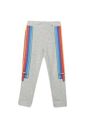 Pantaloni teen grigi con dettagli multicolor Stella McCartney kids STELLA MCCARTNEY KIDS   9   600972SPJE31461T