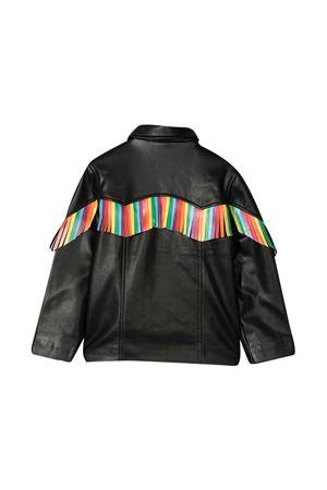 Giacca nera con frange multicolor Stella McCartney kids STELLA MCCARTNEY KIDS   3   600978SPK011000