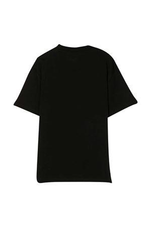 T-shirt nera con stampa Stella McCartney kids STELLA MCCARTNEY KIDS   8   600981SPJG11000