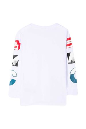 White shirt with multicolor details Stella McCartney kids STELLA MCCARTNEY KIDS | 8 | 600996SPJ949000