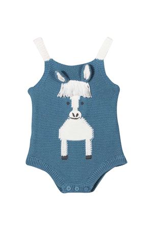 Blue baby body Stella McCartney Kids  STELLA MCCARTNEY KIDS | 32 | 601007SPM154859