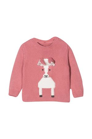 Baby girl pink sweater Stella McCartney Kids  STELLA MCCARTNEY KIDS | 7 | 601032SPM155661