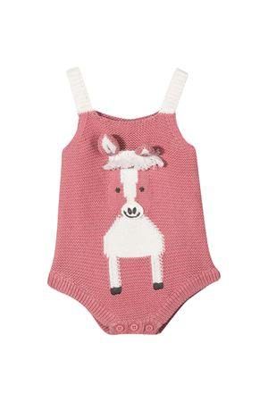 Body rosa neonata Stella McCartney Kids STELLA MCCARTNEY KIDS | 32 | 601035SPM155661