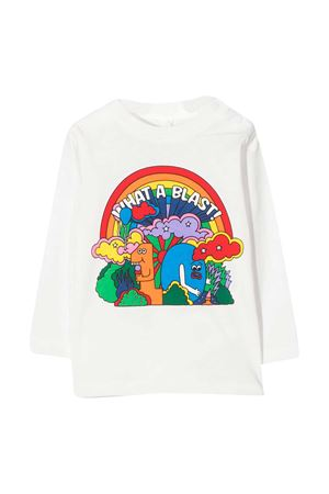 White t-shirt Stella McCartney Kids  STELLA MCCARTNEY KIDS | 8 | 601038SPJ199100