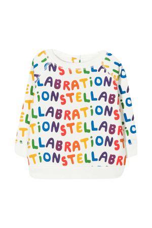 Felpa fondo bianco con stampa multicolor Stella McCartney kids STELLA MCCARTNEY KIDS   -108764232   601056SPJ61G922