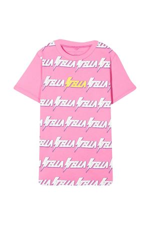 Pink t-shirt Stella McCartney Kids  STELLA MCCARTNEY KIDS | 8 | 601095SPJ39G570
