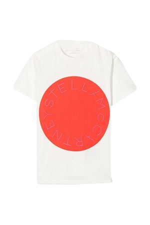 T-shirt bianca teen Stella McCartney Kids STELLA MCCARTNEY KIDS   8   601095SPJA29100T