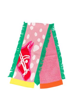 Multicolor scarf with Horse print Stella McCartney kids STELLA MCCARTNEY KIDS | 77 | 601124SPM165566