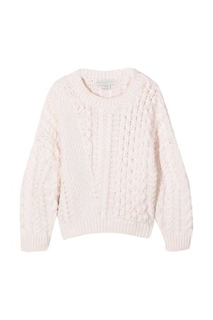 Maglione rosa chiaro Stella McCartney Kids STELLA MCCARTNEY KIDS | 7 | 601151SPM219241