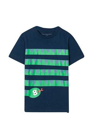 T-shirt blu Stella McCartney Kids STELLA MCCARTNEY KIDS | 8 | 601304SPJ904000