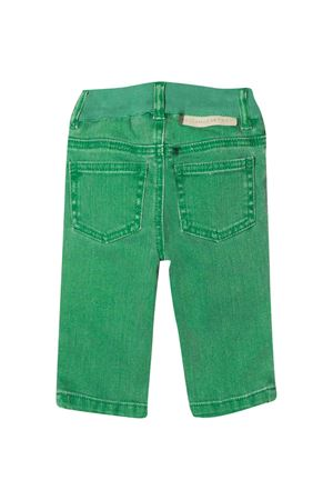 Green jeans Stella McCartney Kids  STELLA MCCARTNEY KIDS | 24 | 601539SPK763704