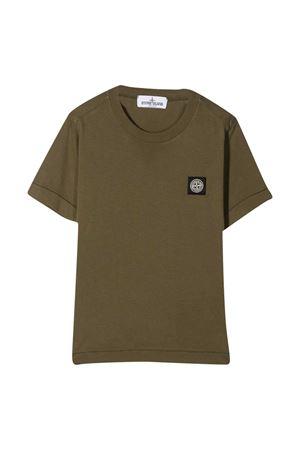 T-shirt verde Stone Island Junior STONE ISLAND JUNIOR | 8 | 731620147V0054