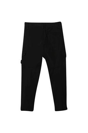 Black cargo trousers Stone Island Junior  STONE ISLAND JUNIOR | 9 | 731630112V0029