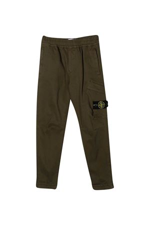 Green trousers Stone Island Junior  STONE ISLAND JUNIOR | 9 | 731630714V0054