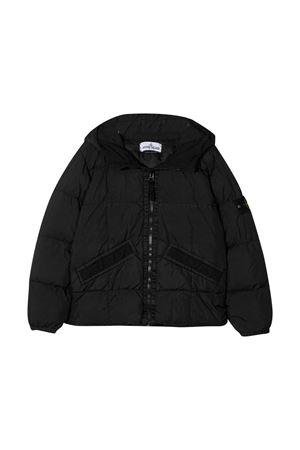 Stone Island Junior black teen down jacket STONE ISLAND JUNIOR | 13 | 731640333V0029T