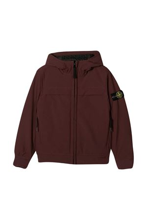 Red sweatshirt teen Stone Island  STONE ISLAND JUNIOR | -276790253 | 731640531V0011T