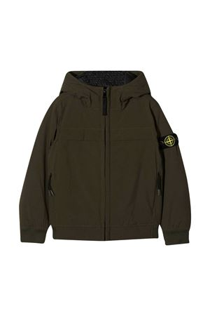 Green sweatshirt teen Stone Island  STONE ISLAND JUNIOR | -276790253 | 731640531V0054T