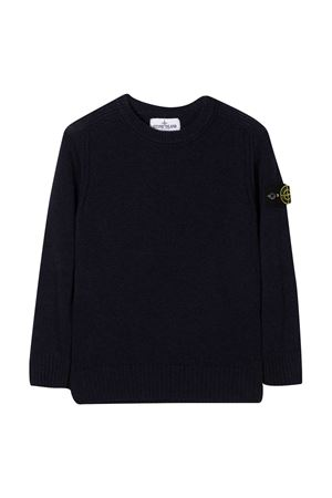 Blue sweater Stone Island Junior  STONE ISLAND JUNIOR | 7 | 7316506A1V0028