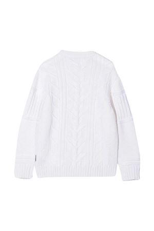 White sweater Stone Island Junior  STONE ISLAND JUNIOR | 7 | 7316520A6V0099