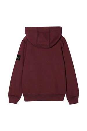 Red Stone Island Junior sweatshirt  STONE ISLAND JUNIOR | -108764232 | 731661640V0011