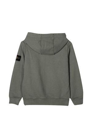 Stone Island Junior gray sweatshirt  STONE ISLAND JUNIOR | -108764232 | 731661640V0068