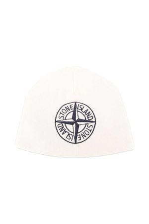 White hat Stone Island junior STONE ISLAND JUNIOR | 75988881 | 7316N06D3V0099