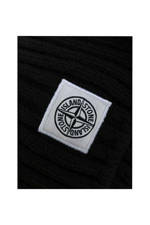 Black scarf Stone Island Junior  STONE ISLAND JUNIOR | 77 | 7316N15A9V0029