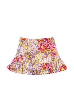 Fuchsia floral skirt baby Young Versace YOUNG VERSACE | 15 | YA000167A234624A7246